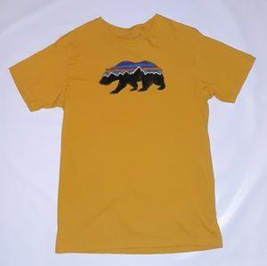 Patagonia Organic Cotton Bear Sketch T size medium